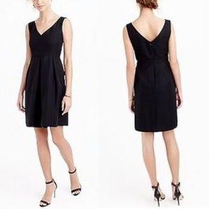 J. Crew Sara dress black leavers lace dress